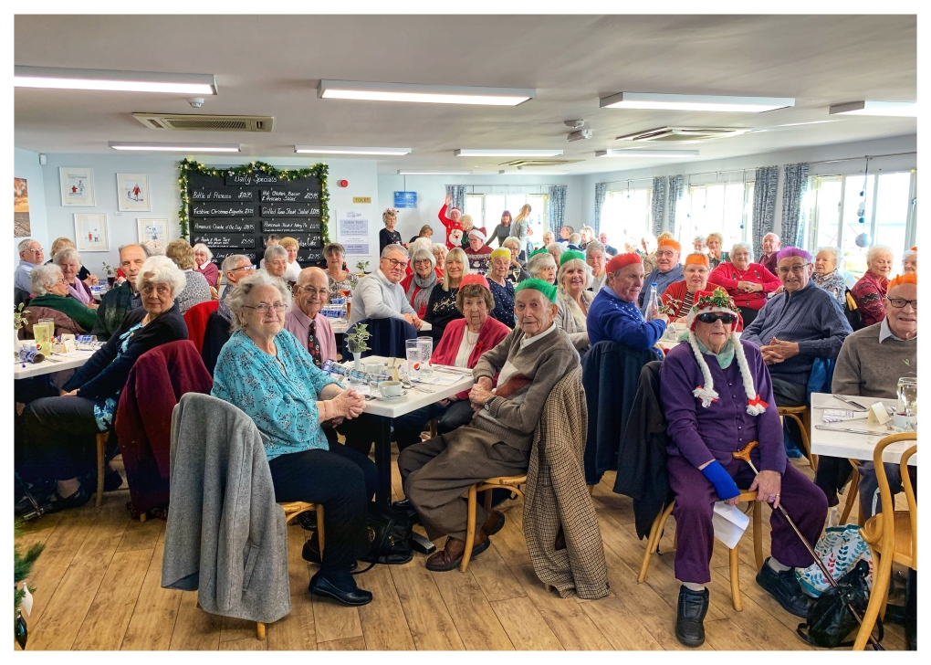 Portland and Wyke Regis older residents celebrate Christmas 2019